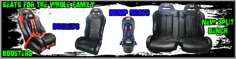 Bucket Seats for your Polaris RZR and other UTV's