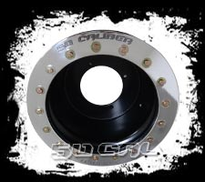 12x10 .190 Aluminum Beadlock Wheel 4//6 Yamaha Rhino 4x110 Bead Lock grizzly Rim