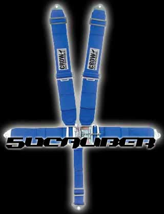 Pro Armor & Crow 4 point and 5 point safety harnesses, seat belts