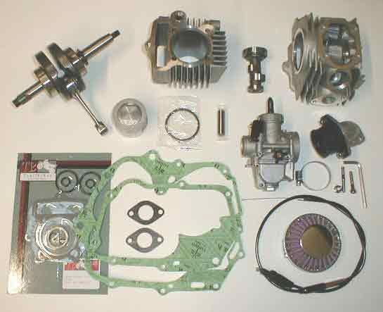 88cc 108cc and 117cc big bore kit honda xr50 crf50 xr-50 crf